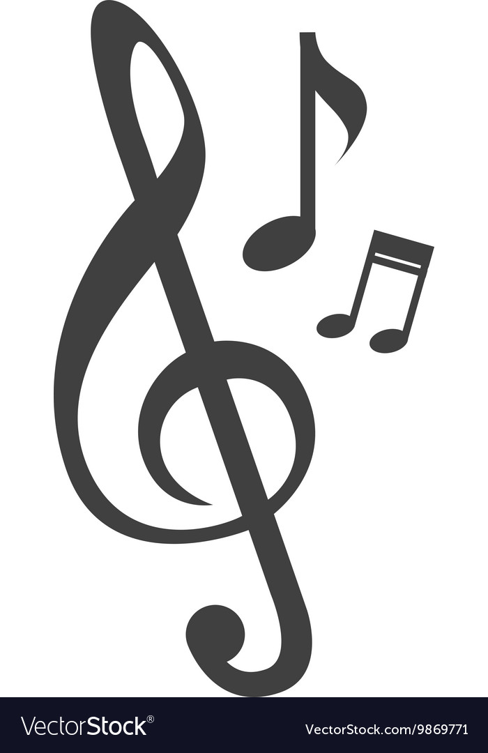 Music note melody