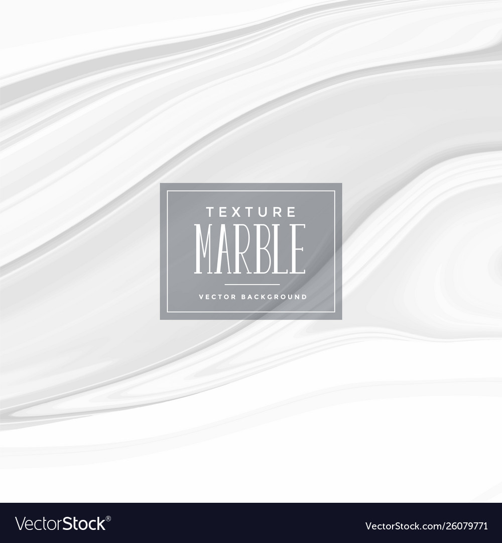 White Marble Texture Effect Background Royalty Free Vector