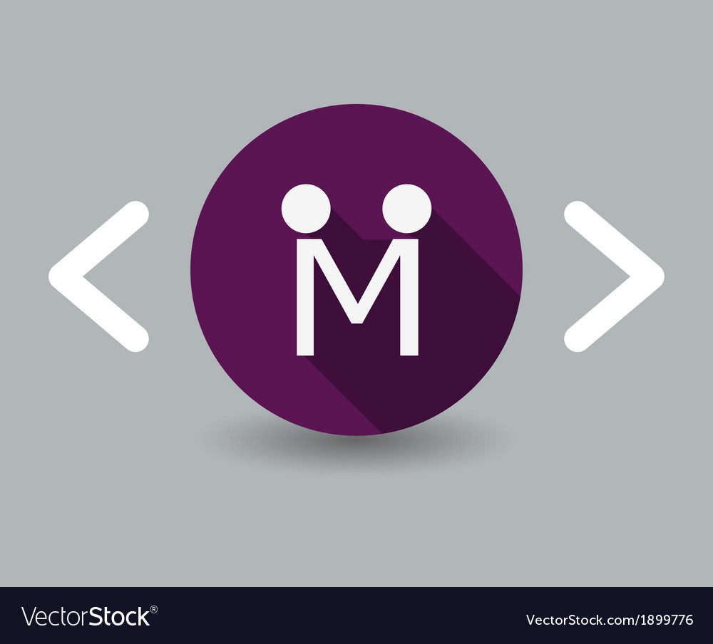 Couple icon vector image