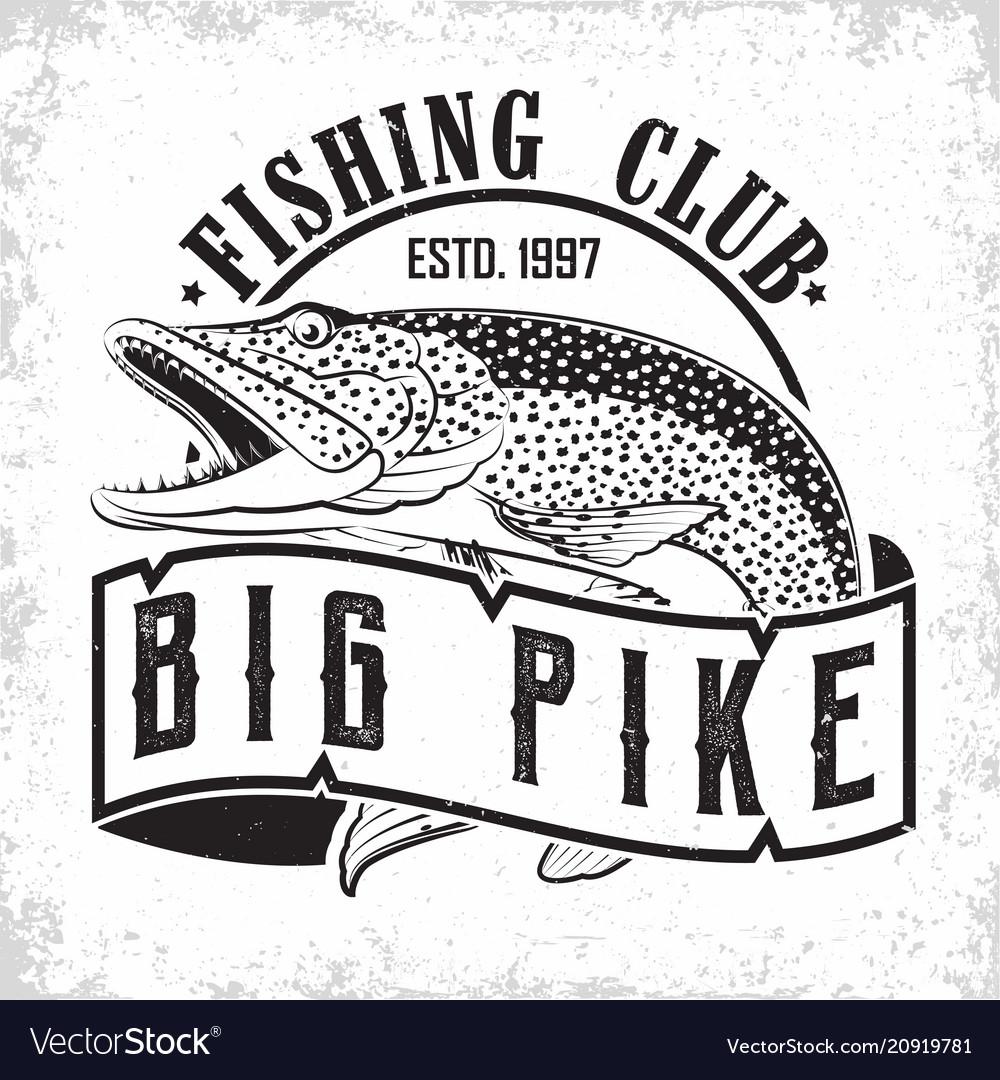 Fishing club logo