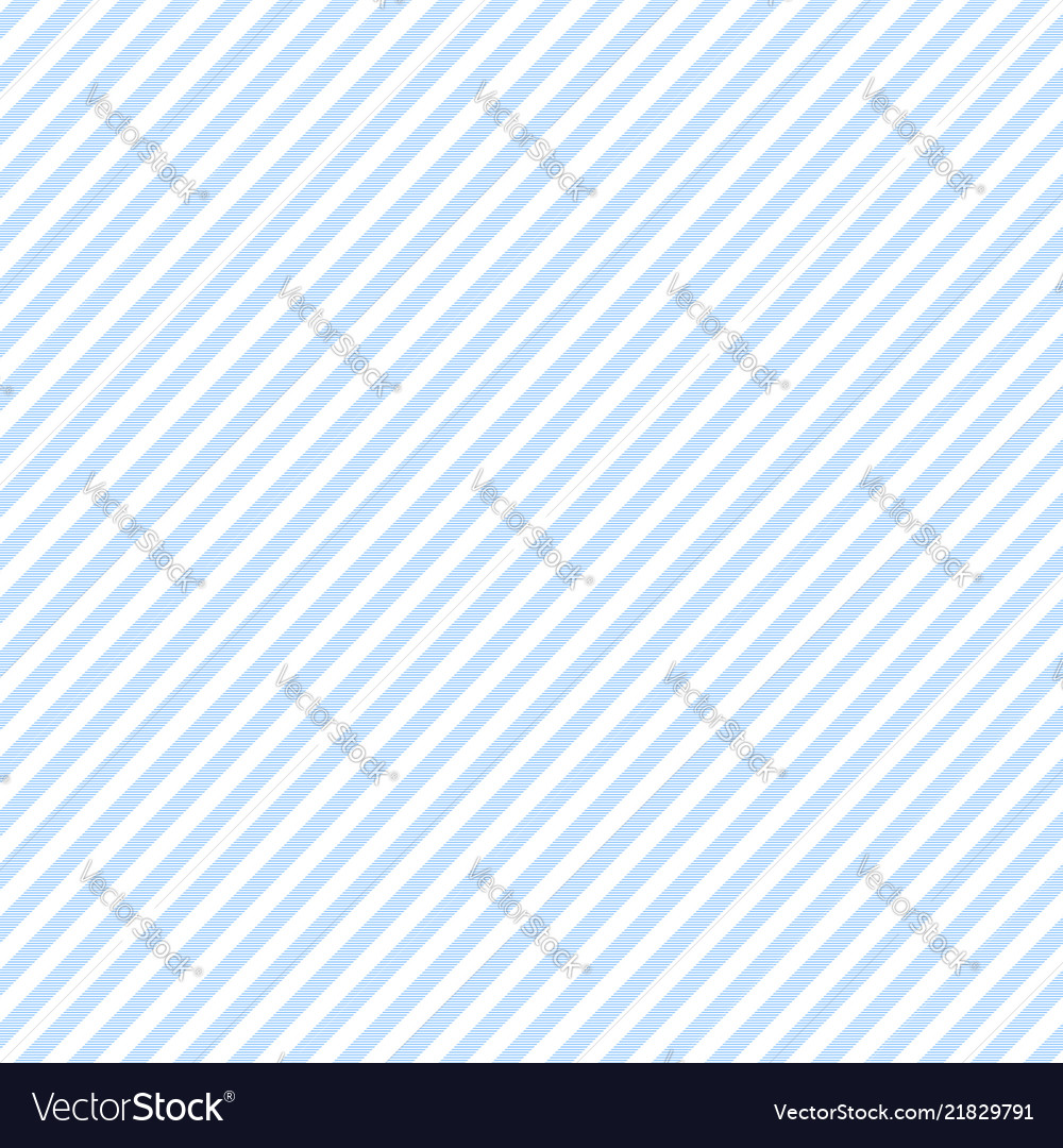 Blue white striped fabric texture seamless pattern
