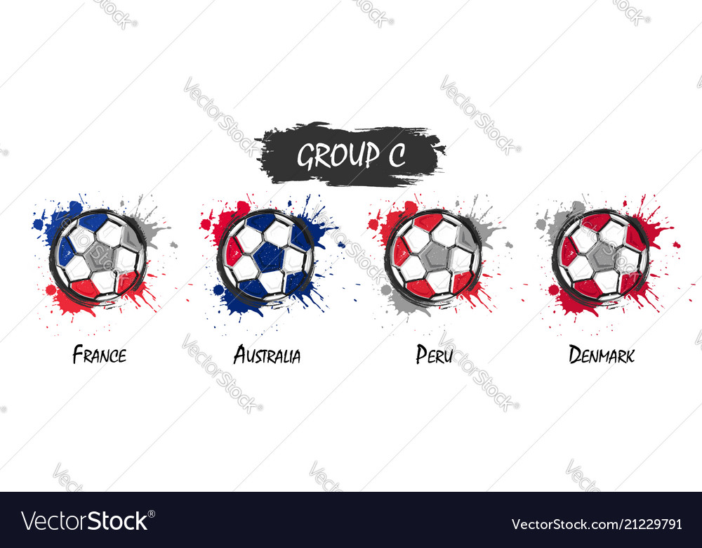 Set of national football team group c