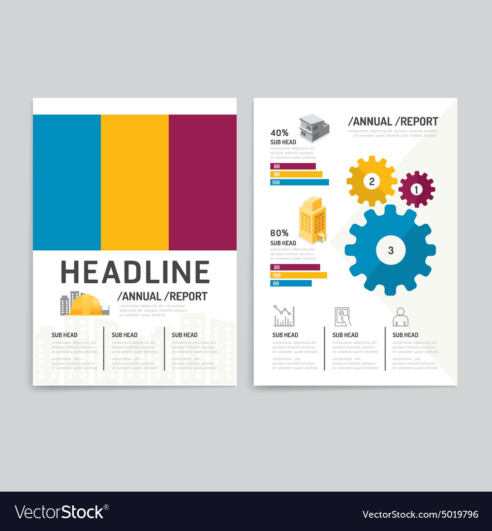 Brochure flyer magazine cover booklet poster desig