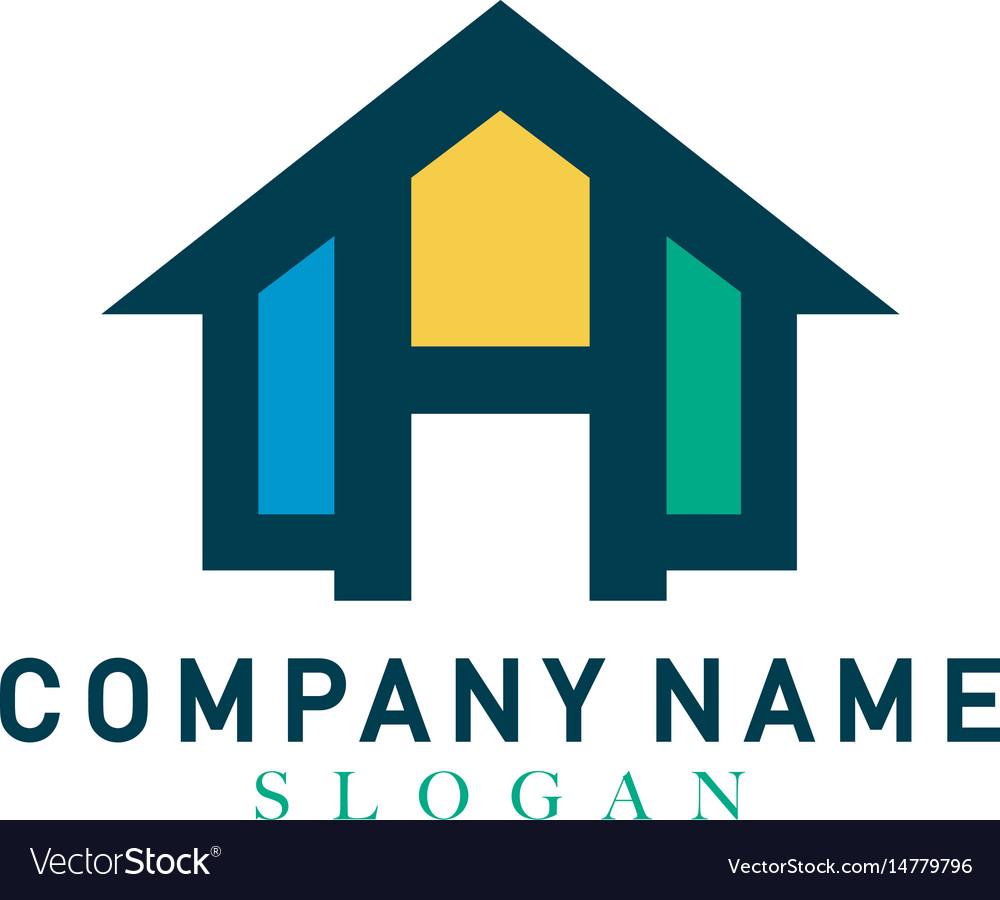 Home letter h design