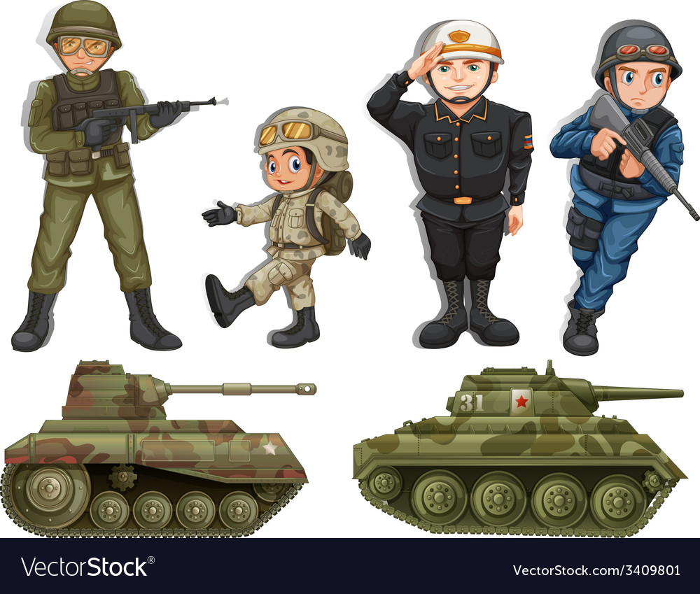 картинки солдатиков и танков