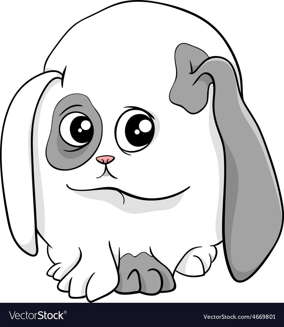 Baby bunny cartoon