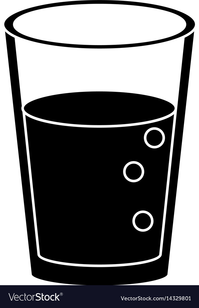 Glass cup juice nature pictogram