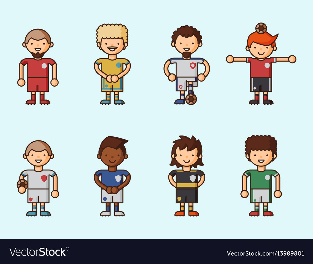National euro cup soccer football teams