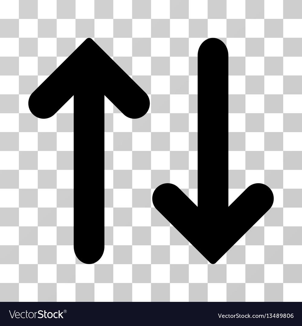 Flip vertical icon vector image