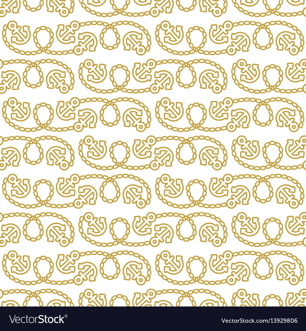Seamless pattern with anchors ongoing backgrounds