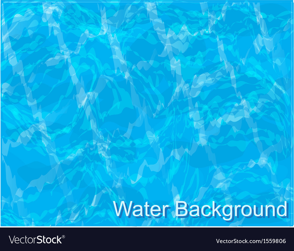 Water in the pool