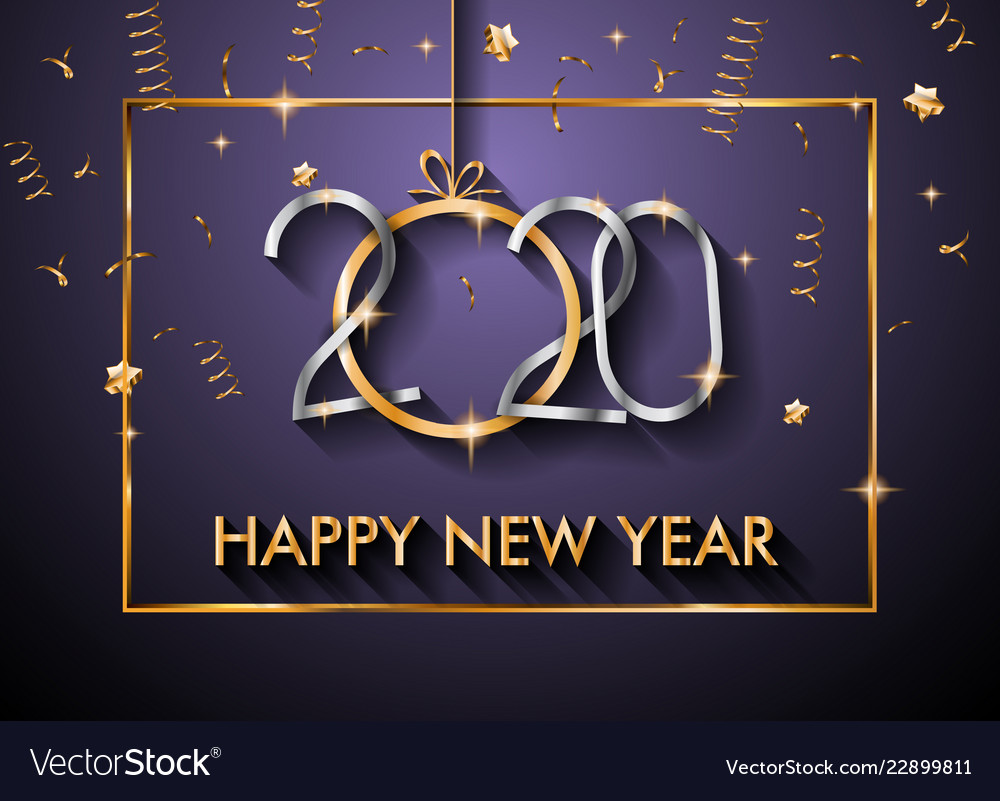 2020 happy new year background for your seasonal