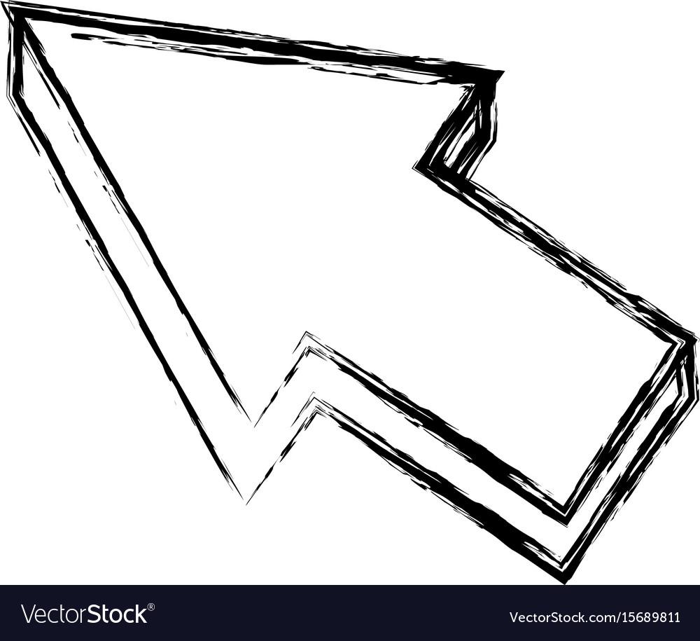Arrow cursor direction pointer click