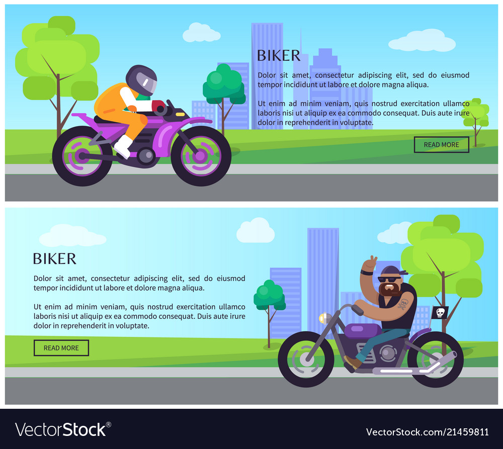 Biker web pages collection