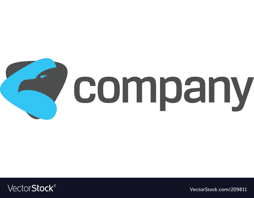 Eagle logo for strong company