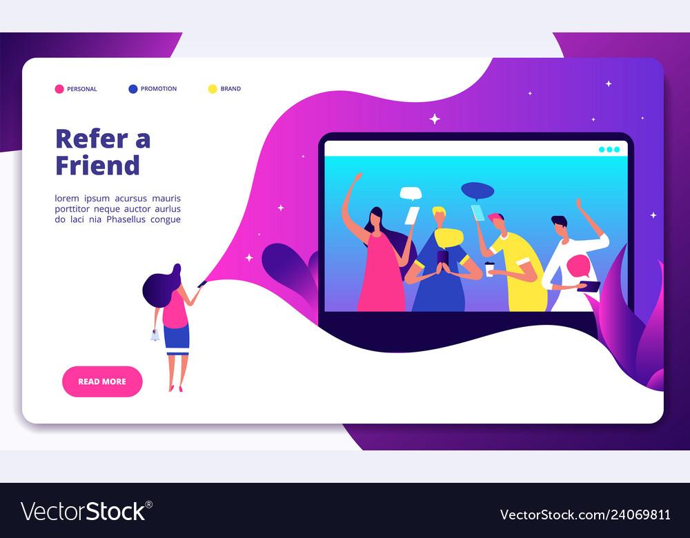 Refer friend recommend friends jobs big shout