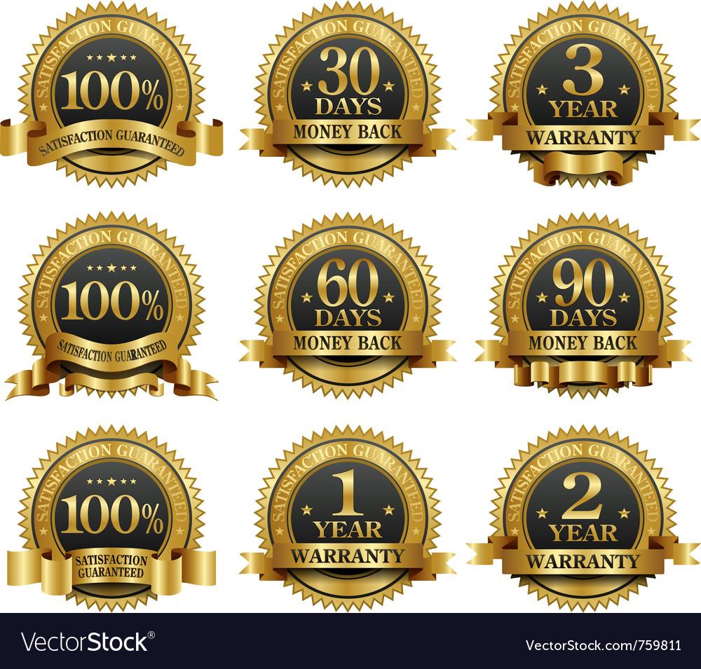 Set of 100 guarantee golden labels