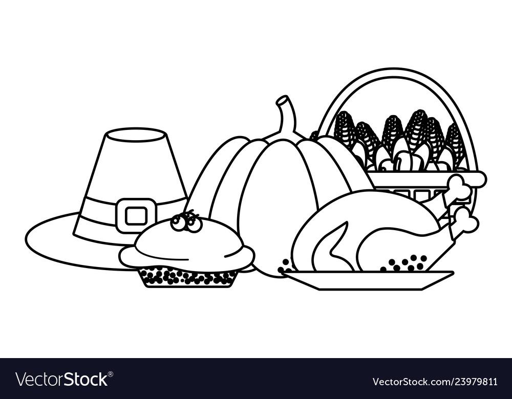 Thanksgiving day cartoon