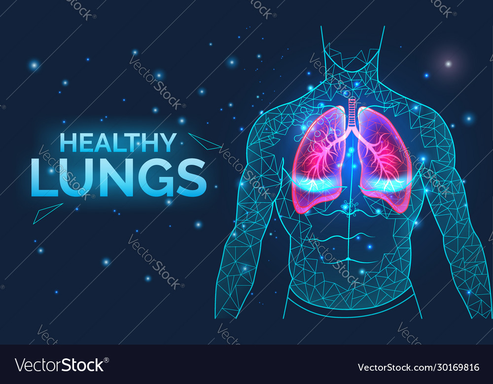 Healthy lungs respiratory system disease