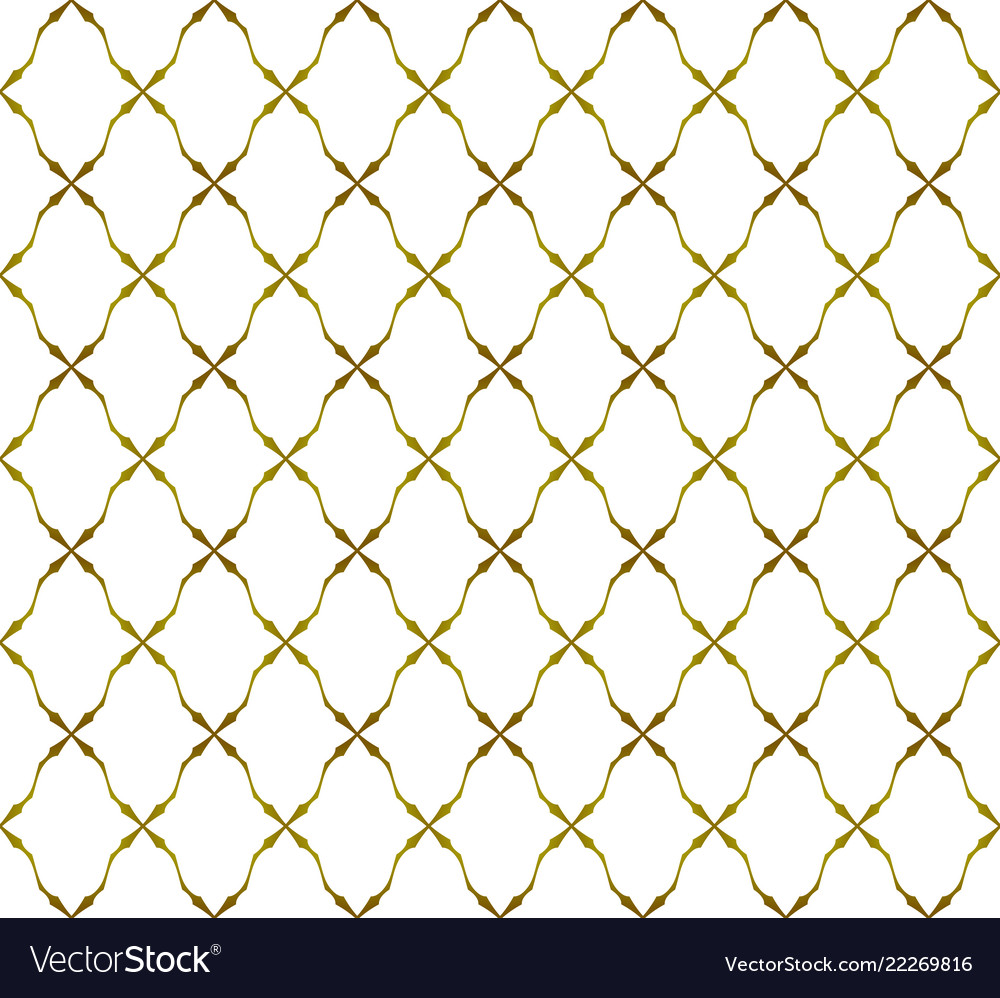 White and gold pattern background