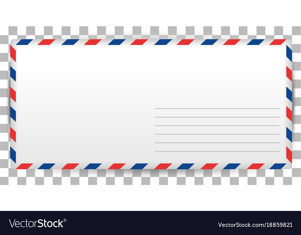 Blank Letter Template Of Santa Claus On Royalty Free Vector
