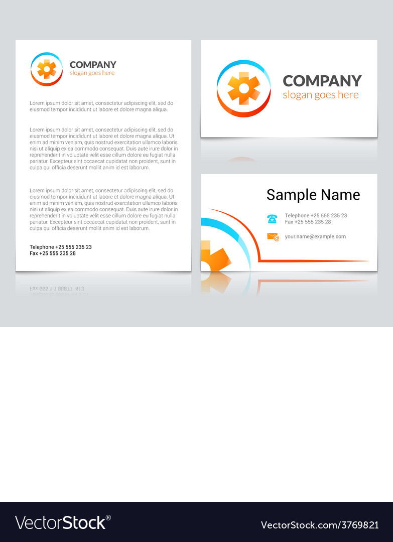 Medical business cards royalty free vector image medical business cards vector image flashek
