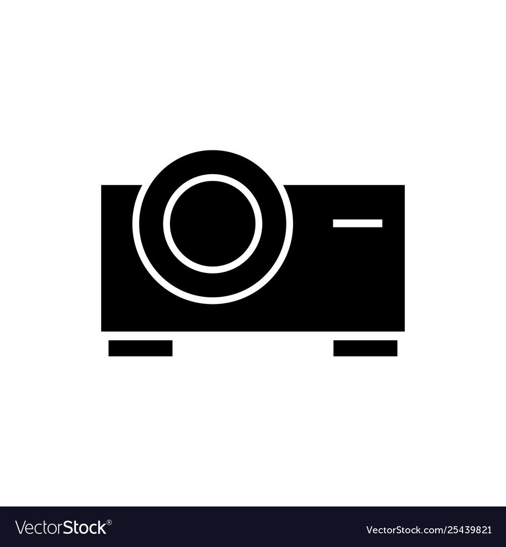 Projector cinema graphic design template