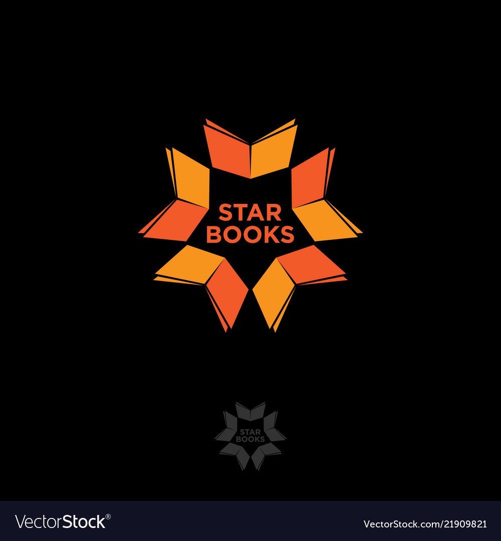 Star books logo digital library chat community