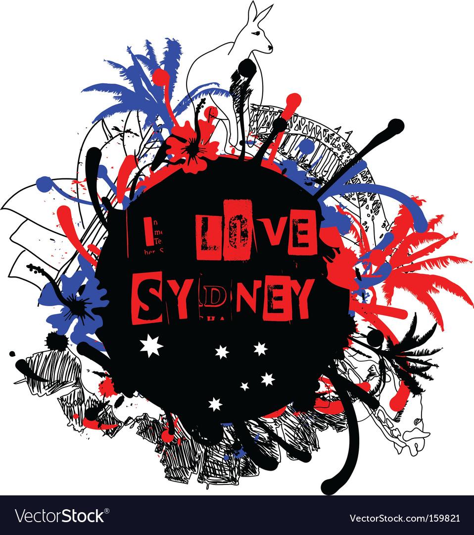 Sydney grunge design