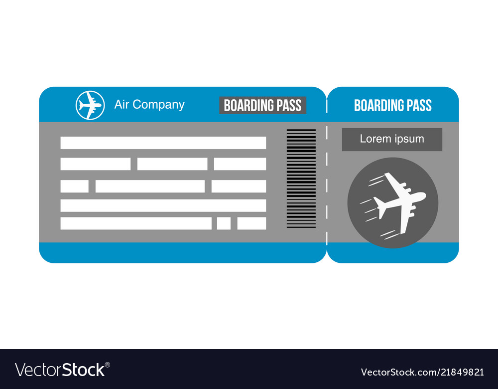 Travel concept airplane tickets