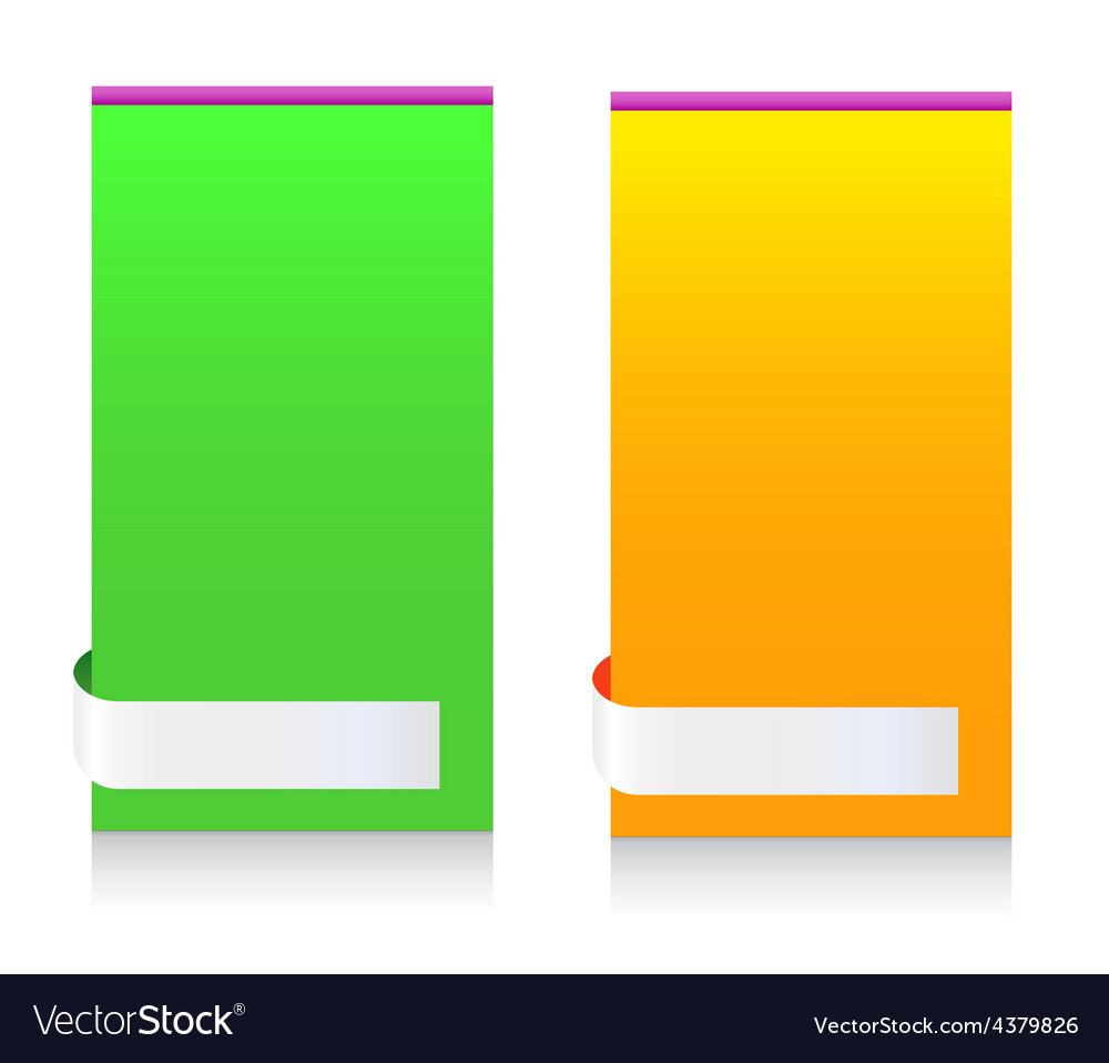Modern Message Information Frame Colorful vector image