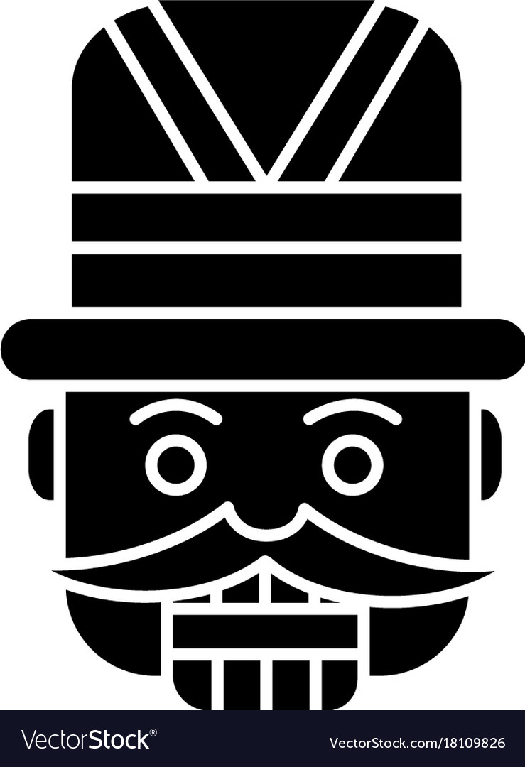 Nutcracker - toy soldier icon