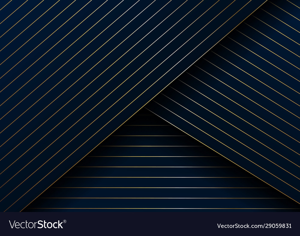 Abstract gold lines diagonal pattern overlap