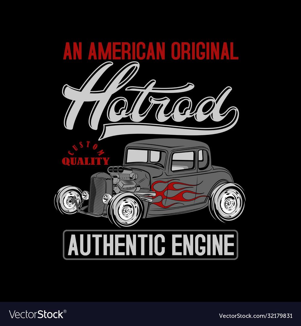 An american original hotrod