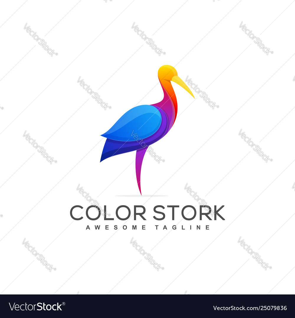Stork concept template