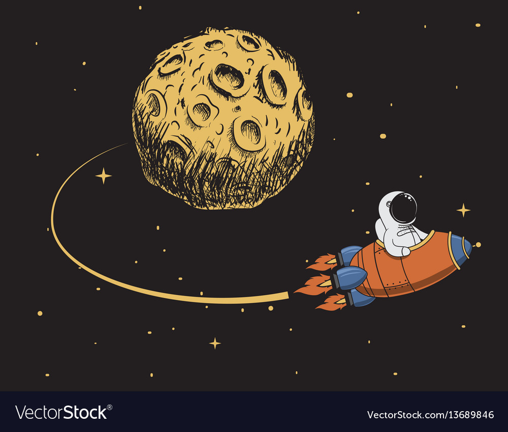 Astronaut come back after mission to moon