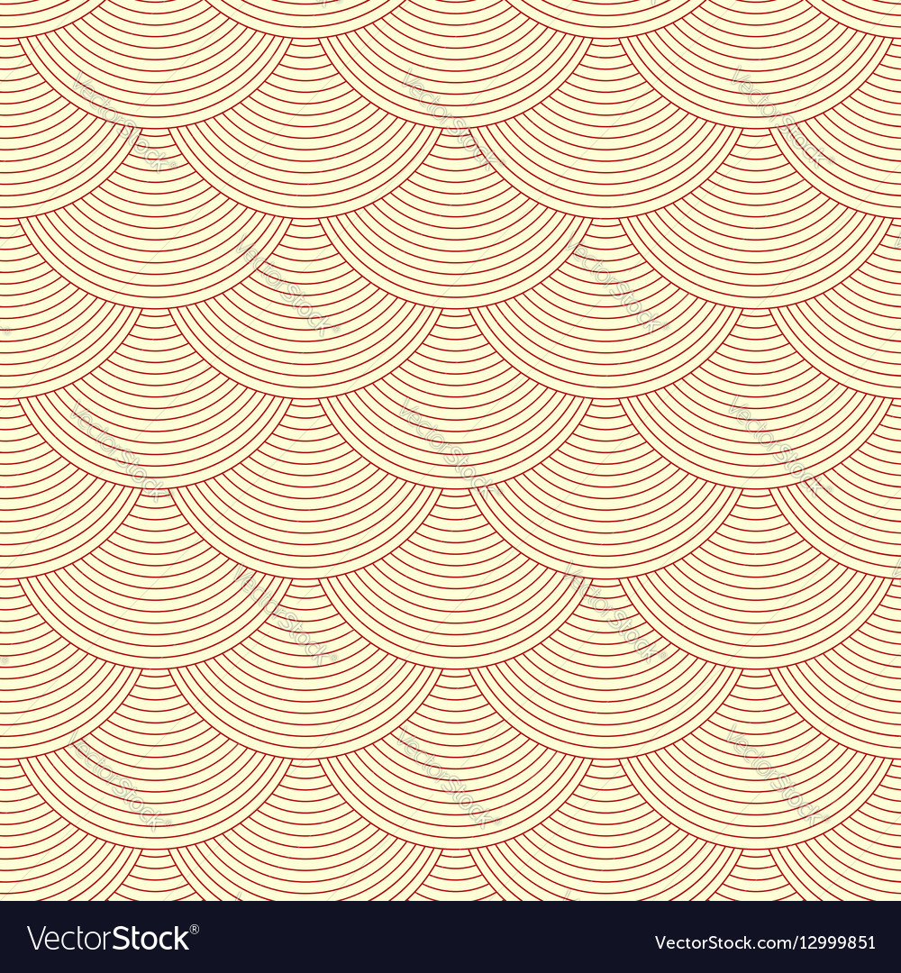 Linear scales seamless pattern