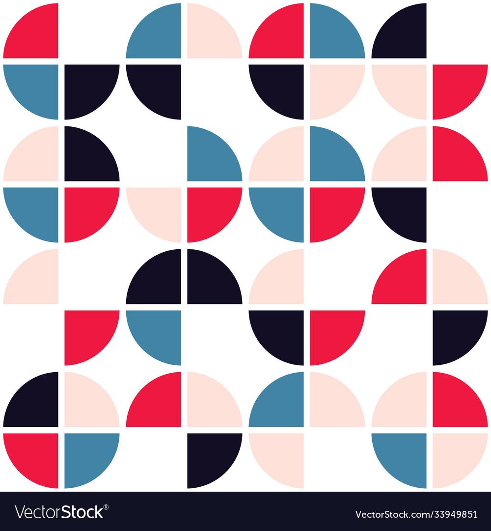 Mid-century modern seamless pattern