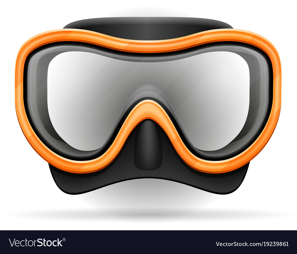 Diving mask stock