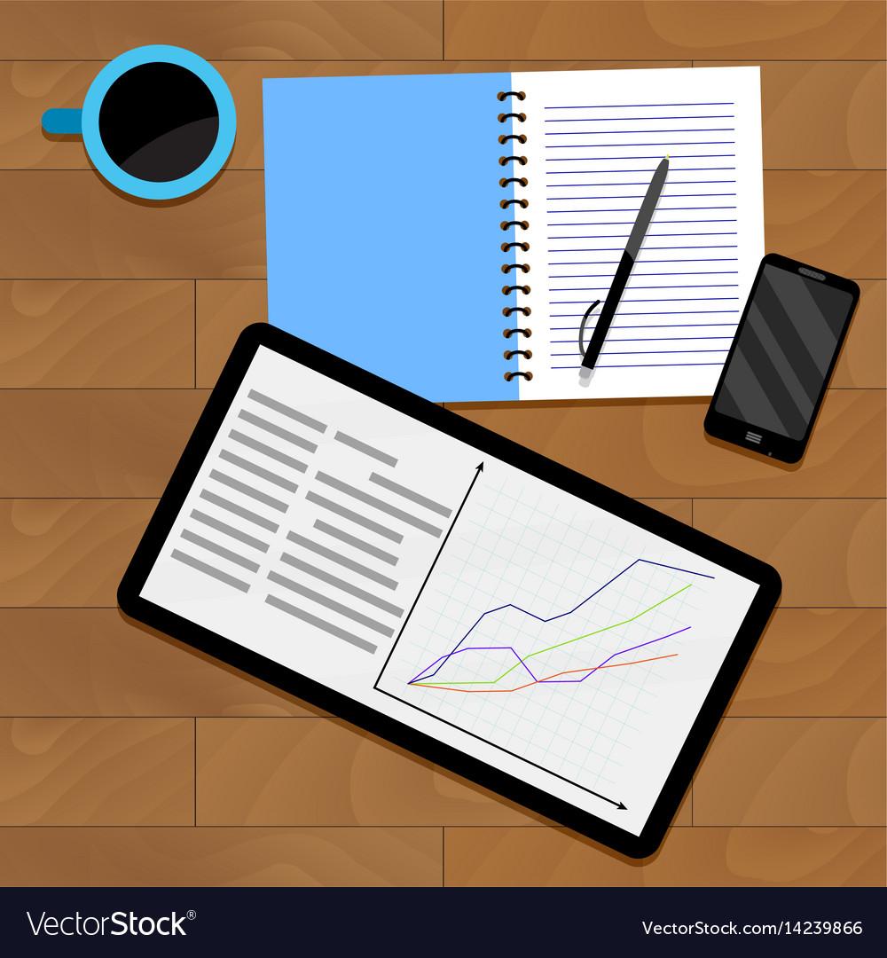 Infographic analytics statistical