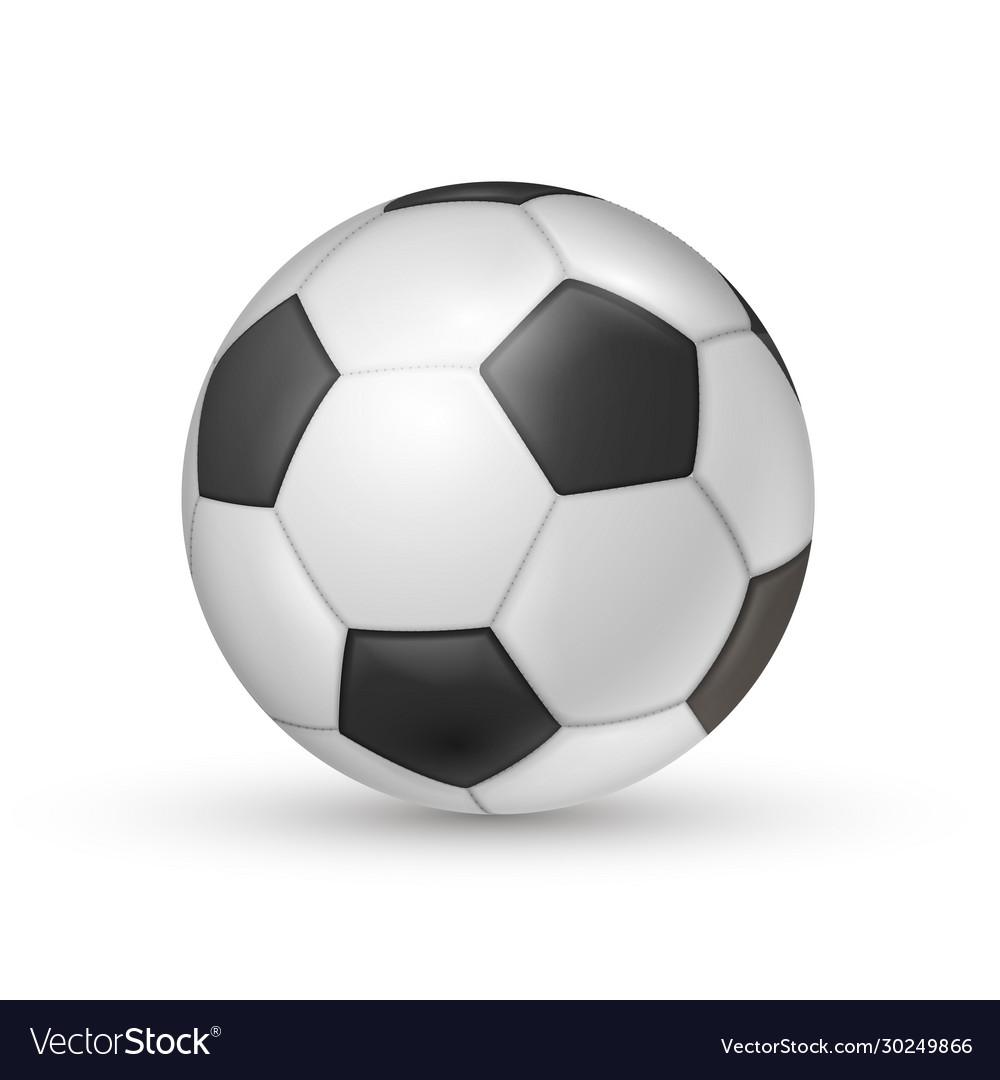 Soccer ball icon football game sport