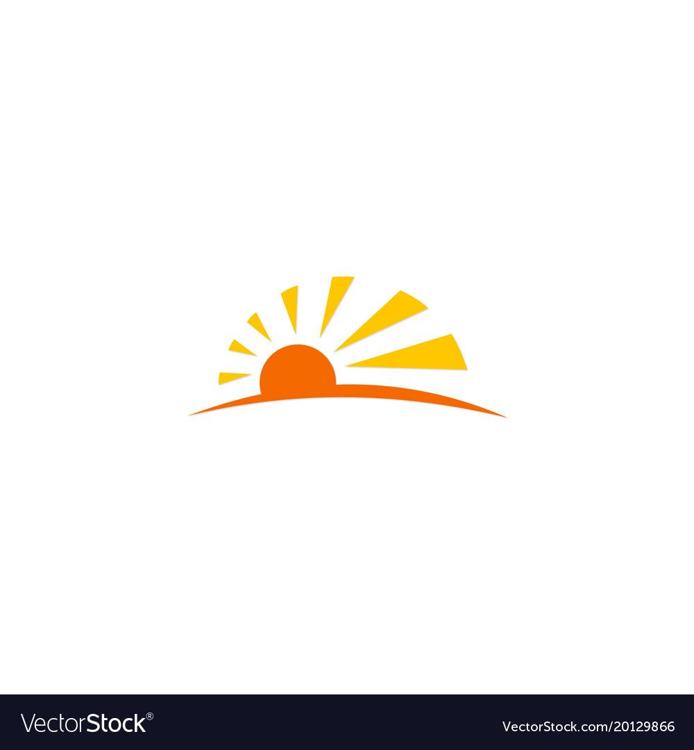 Sun light sunny logo
