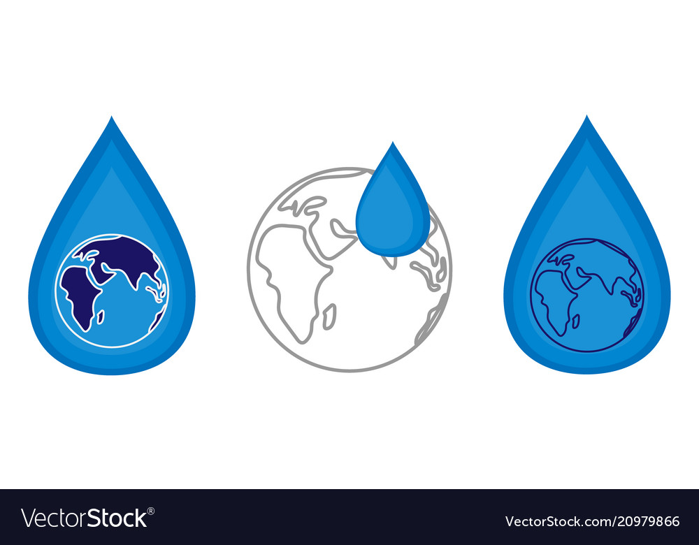 World water day concept