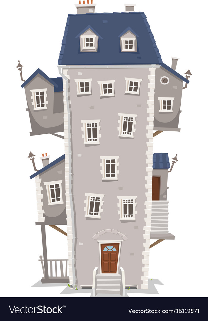 big tall house building royalty free vector image rh vectorstock com big and tall house of fraser big and tall house of fraser