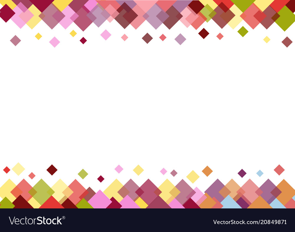 White Backgrounds With Colorful Borders Colorful border...