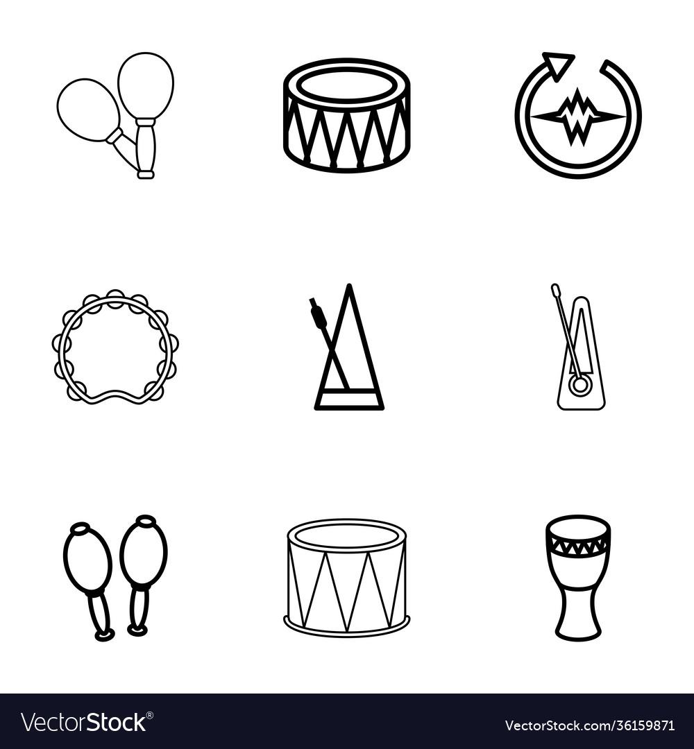 Rhythm icons