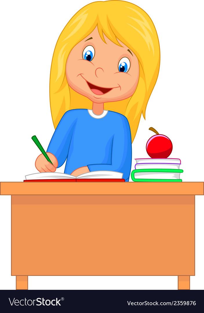 Homework Cartoon Stock Photos and Images