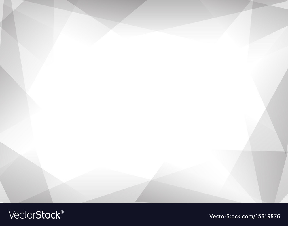 Grey and white prism abstract background vector image
