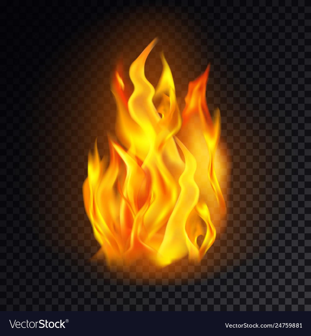 Flame icon or fire emoji lit emoticon danger