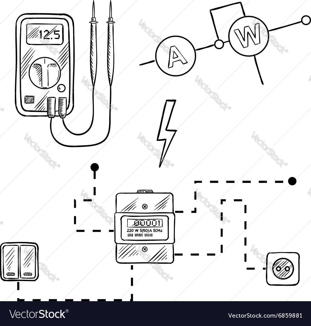Basic Electrical Wiring Diagrams Voltmeter Library Box Mod